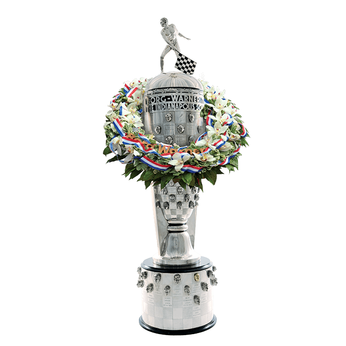Trophy merged with wreath