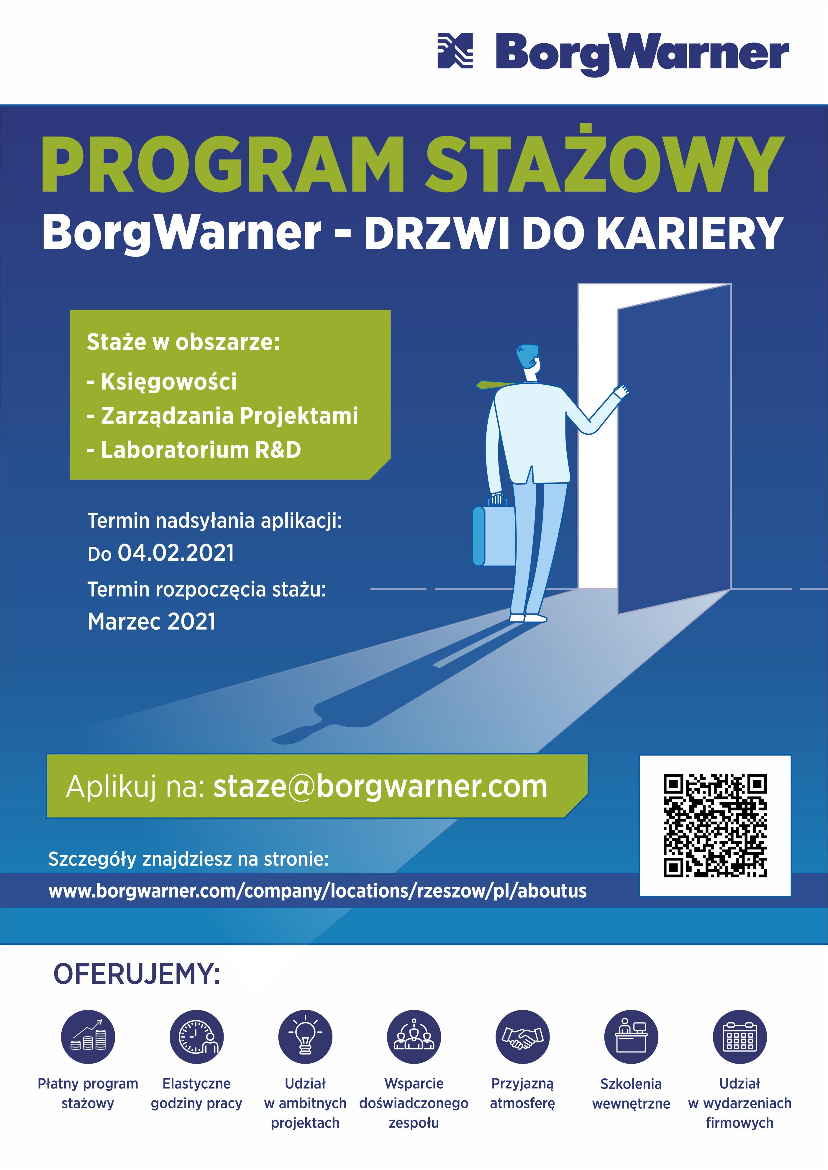 Program stażowy Drzwi do Kariery