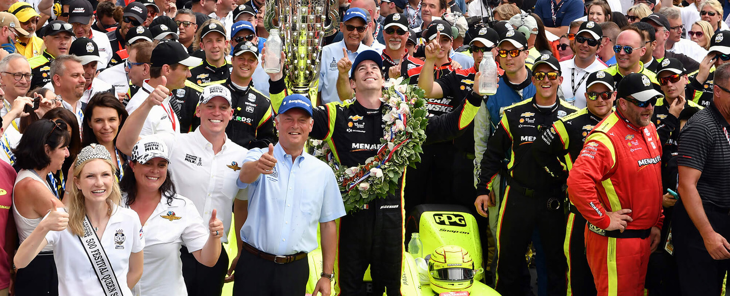01 | 2019 Indianapolis 500 Winner - Simon Pagenaud