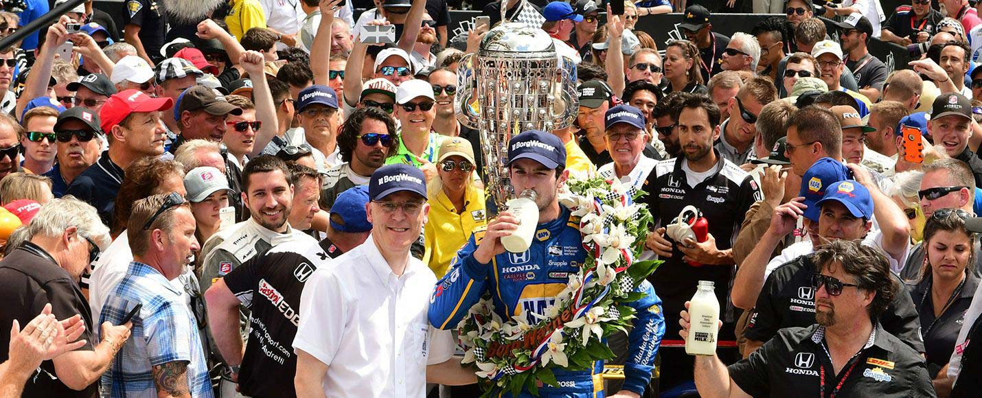 05 | 2016 Indianapolis 500 Winner - Alexander Rossi
