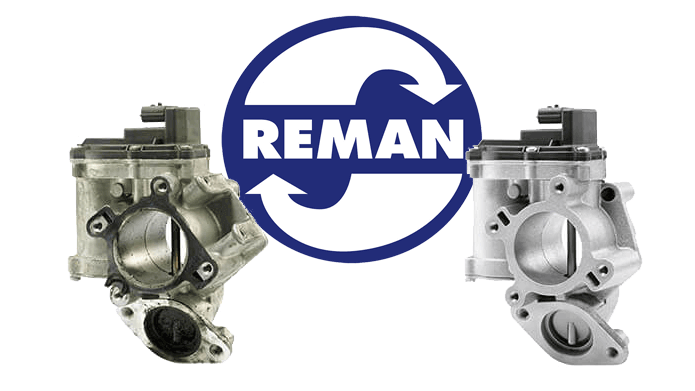 Remanufactured EGR