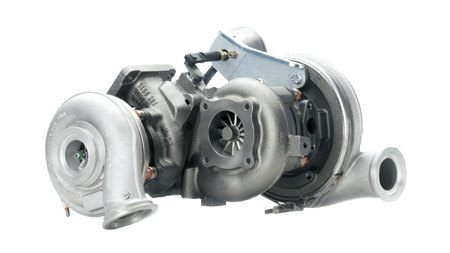 Regulated 2-stage Turbocharger